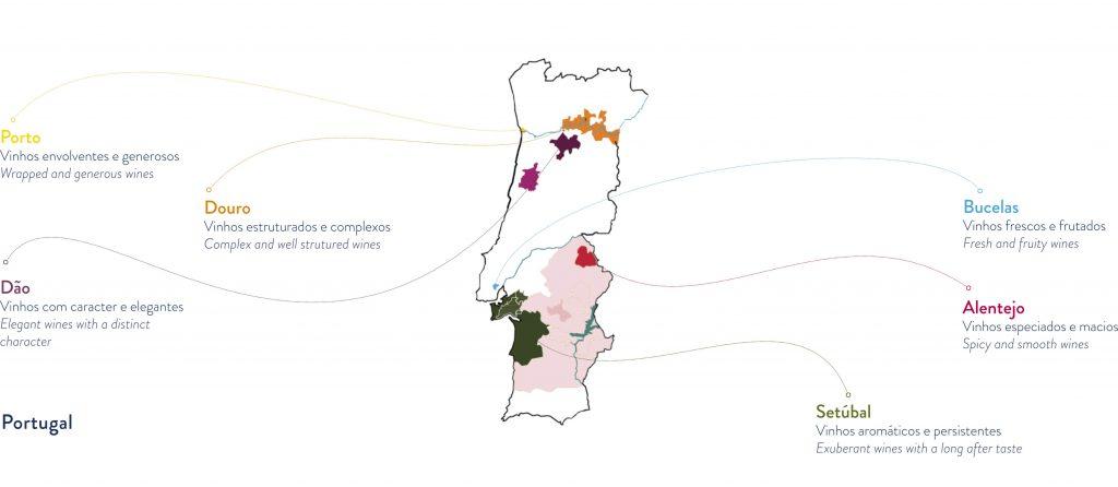 Mapa Regioes Boas Quintas