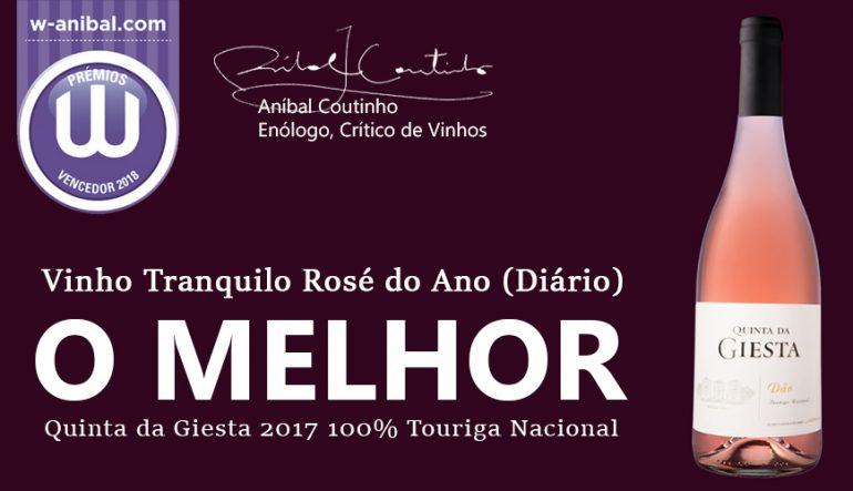 O Melhor Vinho Tranquilo Rosé do Ano - Prémios W 2018
